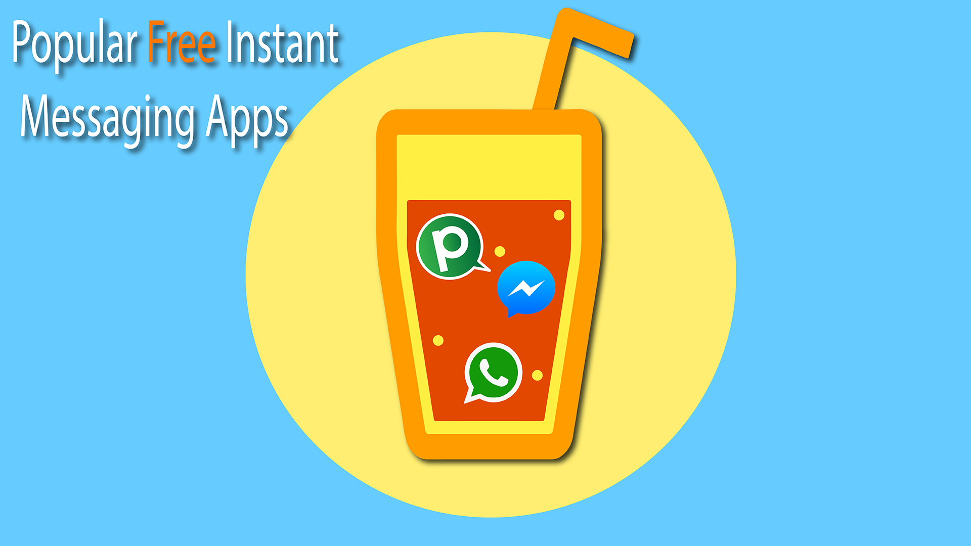 most popular free instant messaging apps