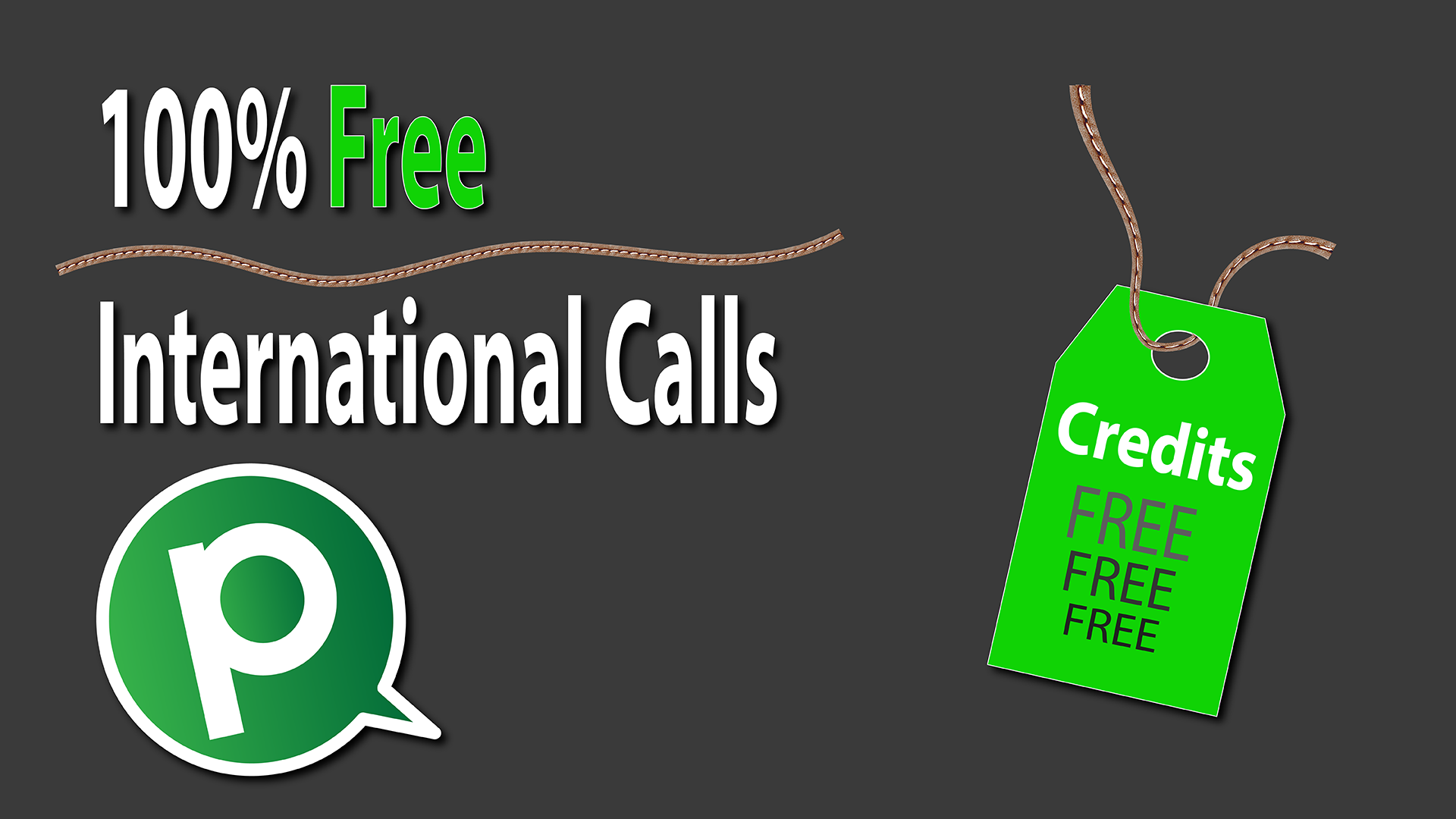 Pinngle credits for free international calls