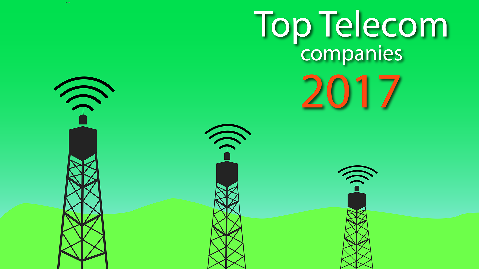 top telecommunications companies