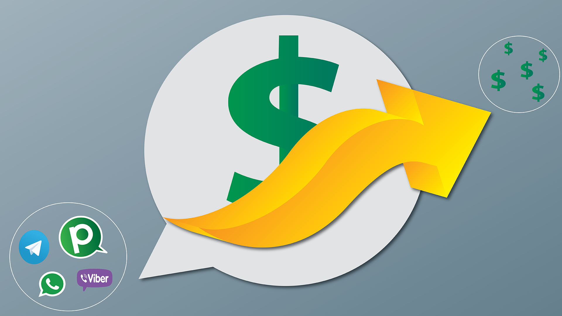 how messaging apps get revenue