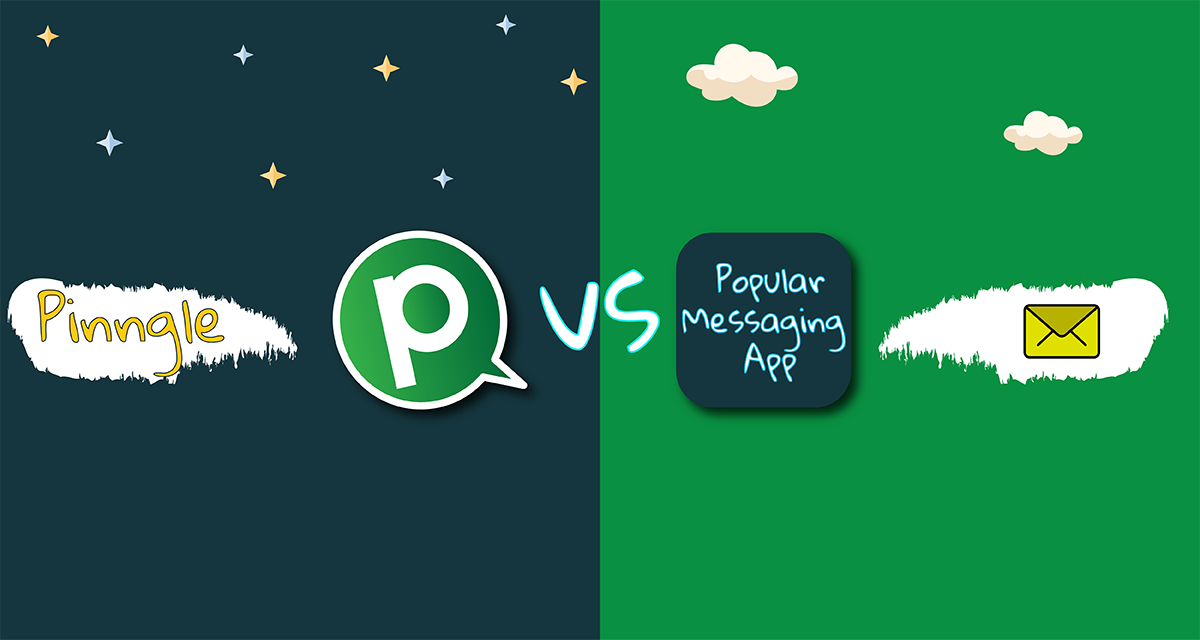 Pinngle Vs Most Popular Messaging App