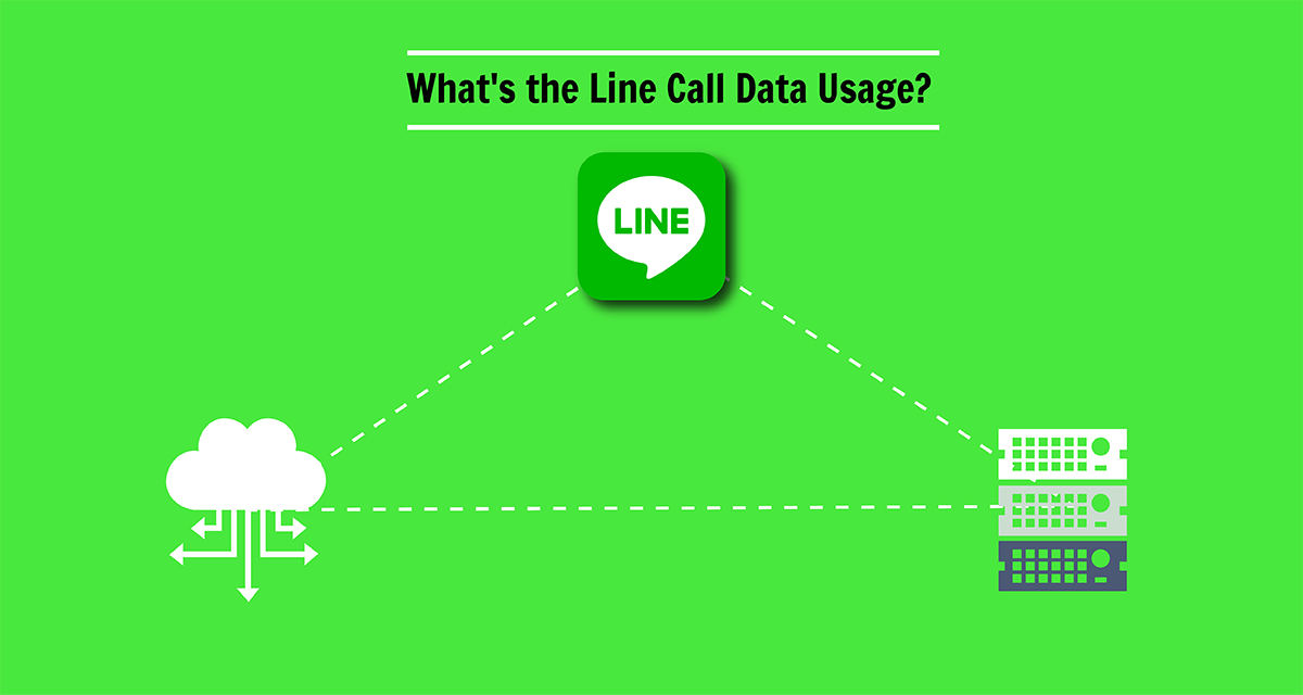 What's the Line Call Data Usage