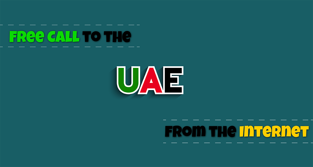 Are You Interested in a Free Call to the UAE from Internet?