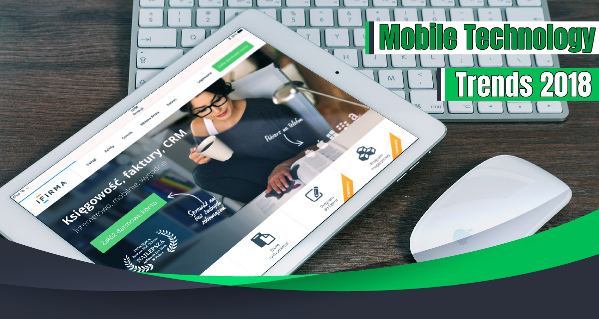 6 Mobile Technology Trends 2018